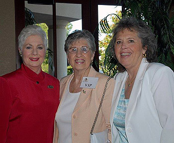 Shirley Jones, Phyllis Floyd, and Andrea Sims