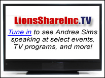Tune in to see Andrea Sims...