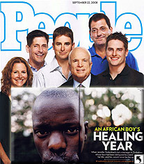 "Andrea Sims, Board Member of Operation of Hope. See the incredible 7-page feature article of ""Beloved"" in People Magazine"